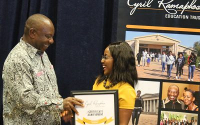Exceptional graduates honoured at CRET Student Awards