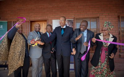 KST and Free State Department of Education Infrastructure Launch