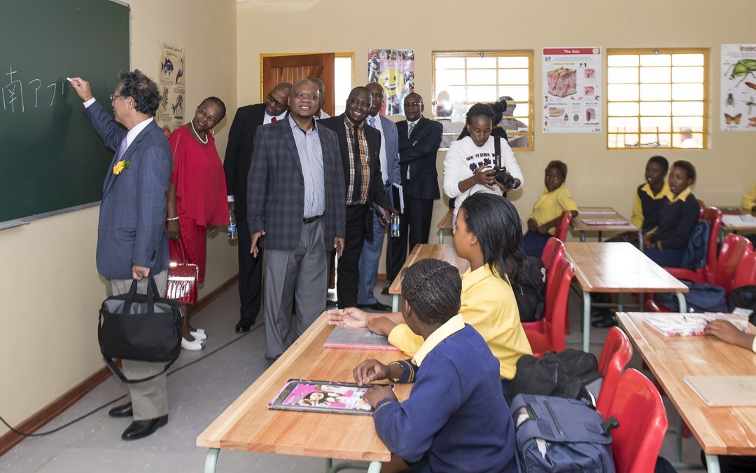 People of Japan invest in upliftment of South African youth
