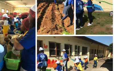 VWSA Show of Hands Volunteer Day at Tshilidzi Primary School