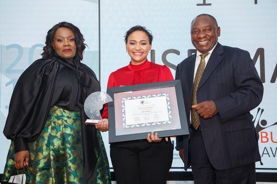 Black Umbrellas Honours SMEs At The 6th Annual National Enterprise Development Awards (NEDA)