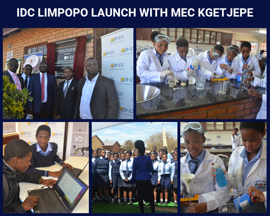 Adopt-a-School and IDC Limpopo launch at Phagamang Secondary School