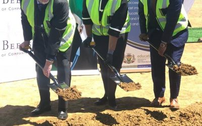 KST Hosts Sod-Turning Ceremony in Partnership with De Beers Group