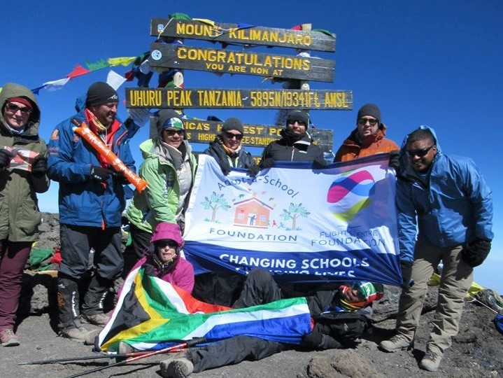 Climbing Africa's peak for a cause