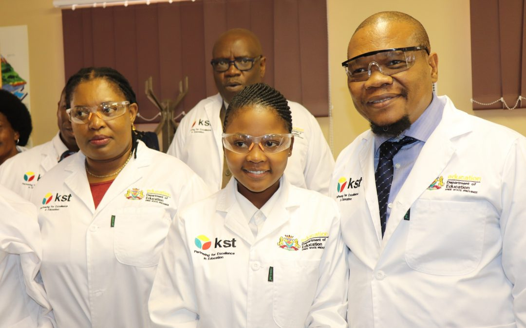 Four Secondary Schools in the Fezile Dabi District Receive Infrastructure