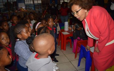 First Lady launches Kanana Early Childhood Development Centre