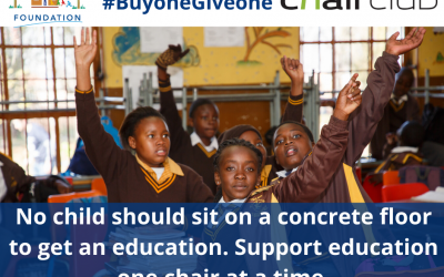 Exciting campaign to equip classrooms in schools across the country