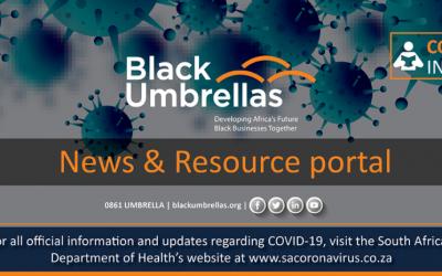 Black Umbrellas COVID-19 resource portal