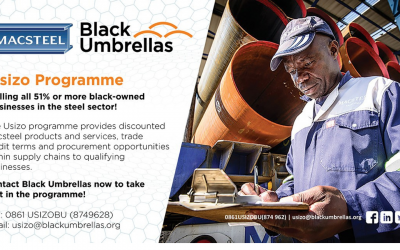 Calling all 51% or more black-owned SMEs in the steel sector to join the Usizo Programme