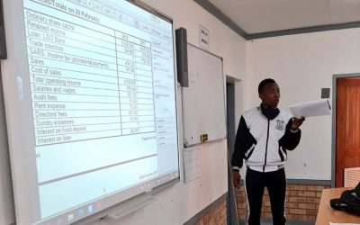 KST Mentors support Free State learners