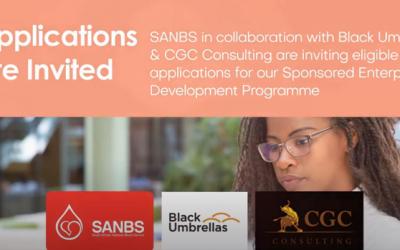 SANBS, Black Umbrellas & CGC – Sponsored Enterprise Development Program