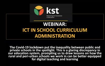 KST ICT webinar unpacks better tools for digital teaching and learning
