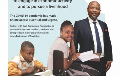Partner with Cyril Ramaphosa Foundation to help bridge the digital divide
